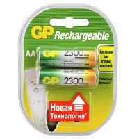 Аккумуляторы металлогидридные Ni-MH GP 230AAHC-UC2 Rechargeable AA 2300мАч 1,2В 2шт