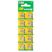 Батарейка алкалиновая GP 191-C10 Alkaline cell 191 AG8 LR1120 1,5В дисковая 10шт