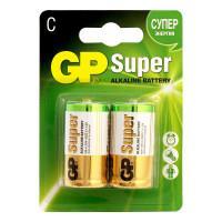 Батарейки алкалиновые GP GP14AU-2CR2 Ultra Alkaline C LR14 1,5В 2шт