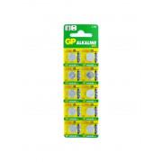 Батарейка GP Alkaline cell 189 1,5В дисковая 10шт