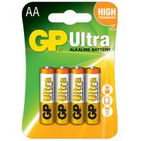 Батарейки алкалиновые GP Ultra Alkaline AA LR6 1,5В 4шт
