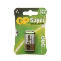 Батарейка алкалиновая GP Super Alkaline 6LR61 крона 9В 1шт