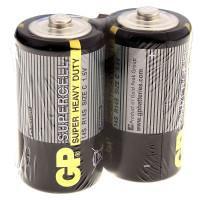 Батарейки солевые GP 14S/R14 Supercell C R14 1,5В 24шт
