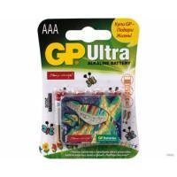 Батарейки алкалиновые GP Ultra Alkaline AA LR6 подари жизнь 1,5В 4шт