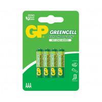 Батарейки солевые GP GP24G-2CR4 Greencell AAA R03 1,5В 40шт