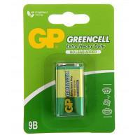 Батарейки солевые GP 1604GLF-S1 Greencell 6F22 крона 9В 10шт