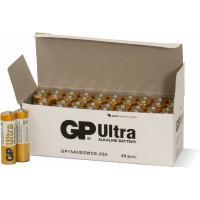 Батарейки алкалиновые GP Ultra Alkaline AA LR6 1,5В 40шт