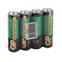 Батарейки солевые GP 15G/R6 Greencell AA R6 1,5В 40шт