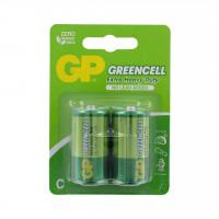 Батарейки солевые GP 14G/R14 Greencell C R14 1,5В 24шт