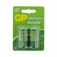 Батарейки солевые GP 14G/R14 Greencell C R14 1,5В 24шт