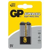 Батарейки солевые GP Supercell 6F22 крона 9В 10шт
