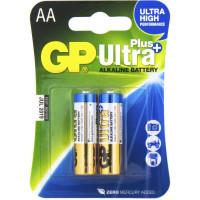 Батарейка GP Ultra Plus AA 1,5В 2шт