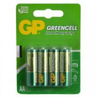 Батарейки солевые GP GP15G-2CR4 Greencell AA R6 1,5В 72шт