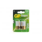 Батарейки алкалиновые GP 13A-UE2 Super Alkaline D LR20 1,5В 2шт