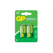 Батарейки солевые GP Greencell C R14 1,5В 20шт