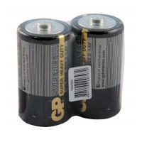 Батарейки солевые GP 13S/R20 Supercell D R20 1,5В 20шт