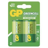 Батарейки солевые GP GP13G-2CR2 Greencell D R20 1,5В 20шт<br>