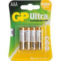 Батарейки алкалиновые GP Ultra Alkaline AAA LR03 1,5В 4шт