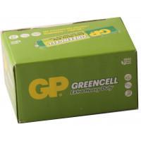 Батарейки солевые GP 24G/R03 Greencell AAA R03 1,5В 40шт