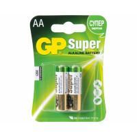 Батарейки алкалиновые GP GP15A-UE2 Super AA LR6 1,5В 2шт