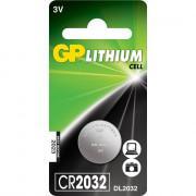 Батарейка литиевая GP GPCR2032-2CR1 Lithium CR2032 дисковая 3В 1шт