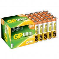 Батарейки алкалиновые GP Ultra Alkaline AAA LR03 1,5В 40шт