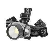 Налобный светодиодный фонарь IP65 GARIN LUX HL-5COB 3Вт питание 3шт ААА