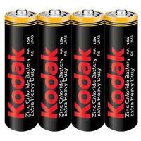 Батарейки солевые Kodak Extra Heavy Duty AA R6 1,5В 24шт