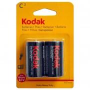Батарейки солевые Kodak Extra Heavy Duty C R14 1,5В 20шт