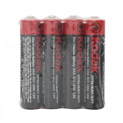 Батарейки солевые Kodak Extra Heavy Duty AAA R03 1,5В 40шт