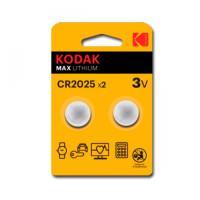Батарейки литиевые Kodak Max Lithium дисковые CR2016 3В 60шт