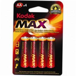 Батарейки алкалиновые Kodak Max AA LR6 1,5В 4шт