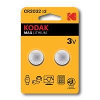 Батарейки литиевые Kodak MAX Lithium CR2032 3В 2шт