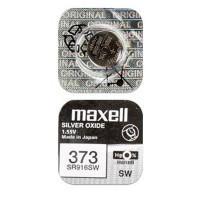 Батарейка для часов Maxell SR916SW 373 1,55В дисковая 1шт