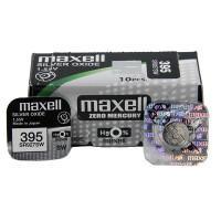 Батарейка для часов Maxell SR927SW 395 1,55В дисковая 1шт