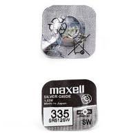 Батарейка для часов Maxell SR512SW 335 NEW 1,55В дисковая 1шт