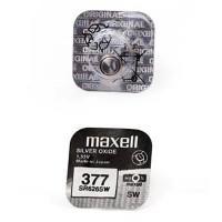 Батарейка для часов Maxell SR626SW 377 1,55В дисковая 1шт