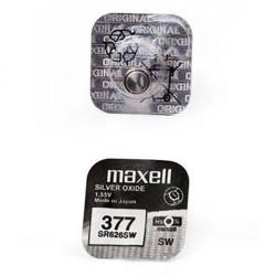 Батарейка Maxell SR626SW 377 1,55В дисковая 1шт