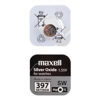 Батарейка Maxell SR726SW 397 1,55В дисковая 1шт
