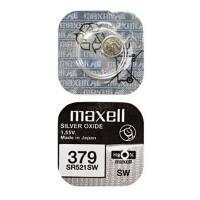Батарейка для часов Maxell SR521SW 379 1,55В дисковая 1шт