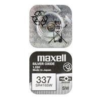 Батарейка для часов Maxell SR416SW 337 1,55В дисковая 1шт