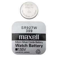 Батарейка для часов Maxell SR927W 399 1,55В дисковая 1шт