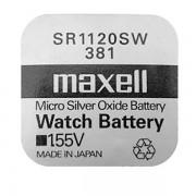 Батарейка Maxell SR1120SW 381 1,55В дисковая 1шт