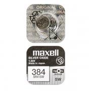 Батарейка Maxell SR41SW 384 1,55В дисковая 1шт