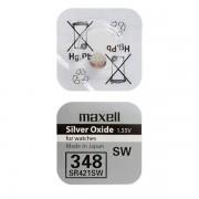 Батарейка Maxell SR421SW 348 1,55В дисковая 1шт