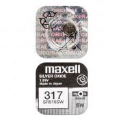Батарейка для часов Maxell SR516SW 317 1,55В дисковая 1шт