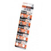Батарейка алкалиновая Maxell LR44 AG13 A76 357 1,5В щелочная дисковая 1шт