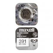 Батарейка Maxell SR1120W 391 1,55В дисковая 1шт