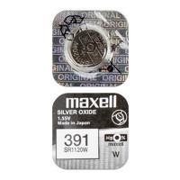 Батарейка для часов Maxell SR1120W 391 1,55В дисковая 1шт