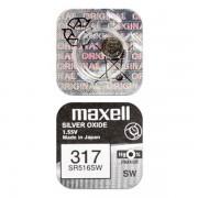Батарейка Maxell SR516SW 317 1,55В дисковая 1шт